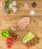 В кухне Стоковые Изображения