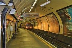 В Лондоне подземном Стоковые Фото