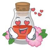 В любов подняло масло семени форма мультфильма иллюстрация вектора