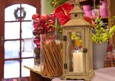 В магазине florist стоковые изображения