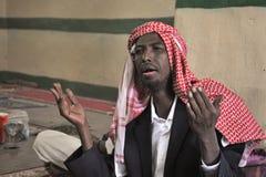 В мечети Sufi в Харгейсе. Стоковые Изображения RF