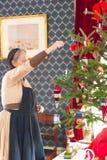В музее истории рождества в высоком парке, Торонто, Канада Стоковое Изображение