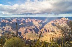 В национальном парке гранд-каньона Аризона США стоковые изображения