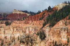 В национальном парке каньона Brice, Юта, США Стоковые Фотографии RF