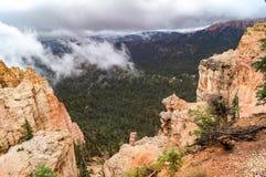 В национальном парке каньона Brice, Юта, США Стоковое фото RF