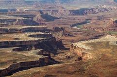 В национальном парке Canyonlands, Юта, США Стоковые Изображения