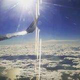 В небе Стоковые Фотографии RF