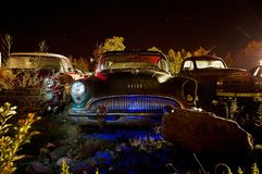 В ночь еще раз стоковая фотография rf