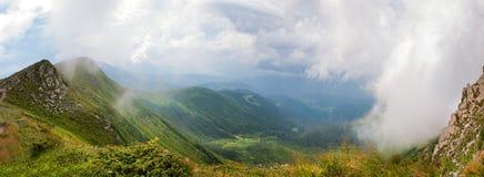 В облаках стоковая фотография rf
