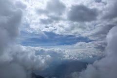 В облаке Стоковая Фотография