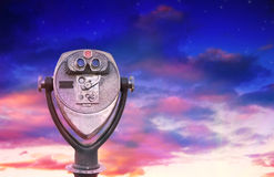 вдохновляющий телезритель Стоковая Фотография