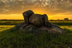 В одичалых старых камнях Стоковая Фотография RF