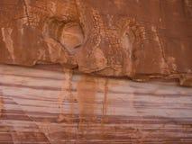 Вдоль следа куполов белизны Стоковая Фотография RF