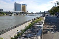 Вдоль токио Японии 2016 реки Sumida Стоковые Фото