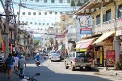 2011 вдоль kanchanaburi февраля смерти тележки двигает работника следов Таиланда железной дороги фото железнодорожными принятого  Стоковое Фото