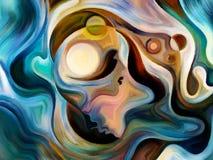 В поисках внутренней краски Стоковая Фотография