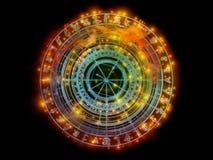 В поисках священной геометрии иллюстрация вектора