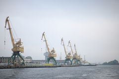 В порте Стоковая Фотография RF