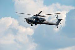В полете Mi-28 Стоковые Изображения RF