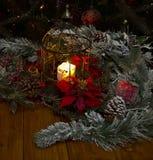 В праздничной ноче Стоковое Фото