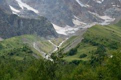 В предгорьях Mount Elbrus Стоковые Изображения