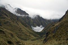 В пути достигнуть Machu Picchu потеряло город Стоковое Изображение RF