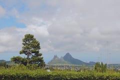 В районе пропилов Trou вспомогательных Curepipe, Маврикий Стоковые Фотографии RF