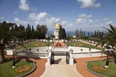 Сады Bahai, Хайфа, Израиль Стоковое Изображение