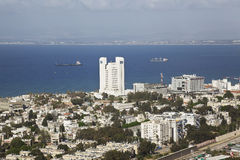 Панорама Хайфа, Израиль. Стоковое Фото