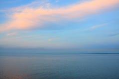В середине моря стоковые фотографии rf