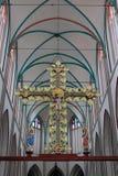 В соборе Шверина Стоковое Изображение