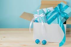 В срок концепция поставки рождества Стоковая Фотография