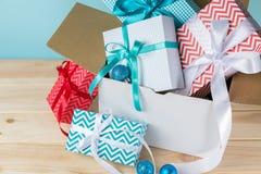В срок концепция поставки рождества Стоковые Фотографии RF