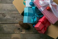 В срок концепция поставки рождества Стоковая Фотография RF