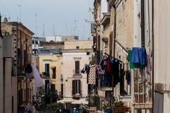 В старом городе стоковое фото rf
