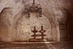 В старом подземелье Стоковая Фотография RF