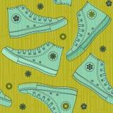 в стиле фанк спорты ботинок Стоковые Фото