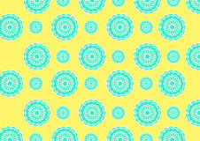 В стиле фанк цветки Стоковые Фотографии RF