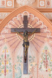 В стороне римско-католические епархия или собор Immaculat Стоковое Изображение RF