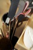 В студии ногтя Стоковые Фото