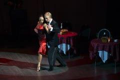 В танцульке Стоковая Фотография