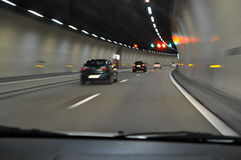 В тоннеле тоннеля Стоковая Фотография RF