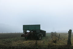 В тумане Стоковые Фото