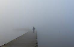 В туман Стоковое фото RF