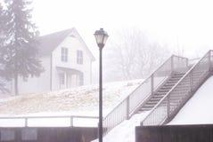В туман Стоковое Изображение