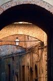 В улицах Италии стоковая фотография rf