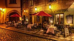 В улицах Праги Стоковые Изображения RF