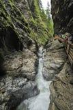 В ущелье горы Стоковые Фото