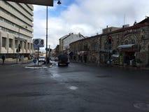 В улицах Иерусалима Стоковое Изображение