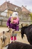 В ферме с животными Стоковая Фотография RF